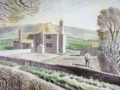 "Eric Ravilious painting ""Shepherd's Cottage, Firle"".png"