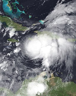 Hurricane Ernesto (2006) Category 1 Atlantic hurricane in 2006