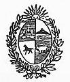Escudo Uruguay El Nacional 1845.jpg
