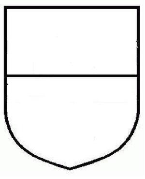 Dutch heraldry - Image: Escudo cortado