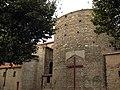 Església de la Real, costat sud.jpg