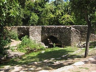 Spanish missions in Texas - Mission Espada's aqueduct
