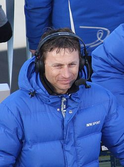 Espen Bredesen kommenterer for NRK Sport