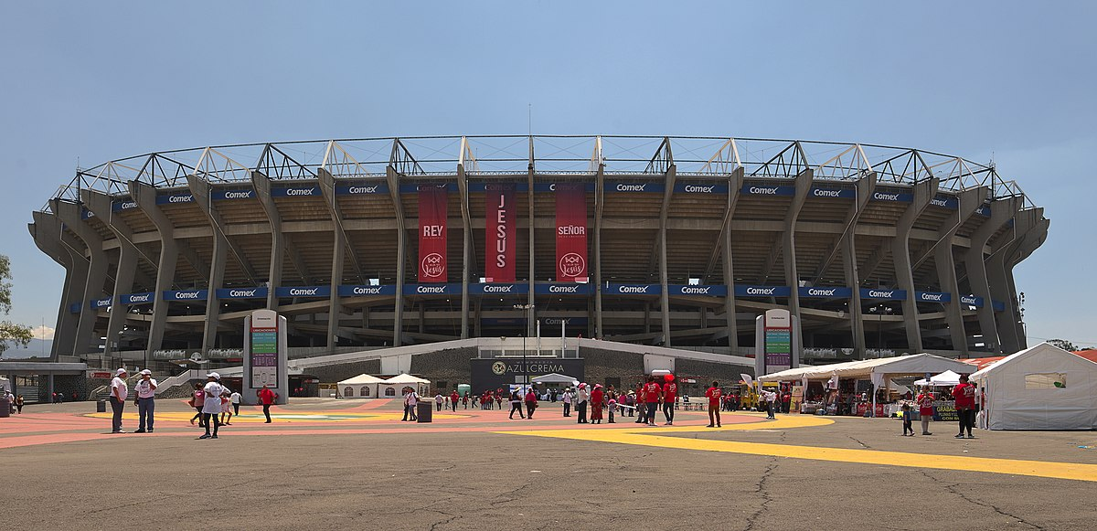 Estadio azteca wikipedia for Puerta 5b estadio universitario