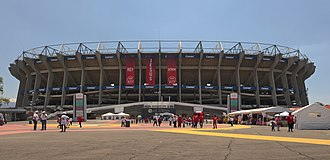 Football in Mexico - Estadio Azteca home of the national team