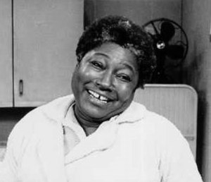 Esther Rolle - Rolle on the set of Good Times, 1974