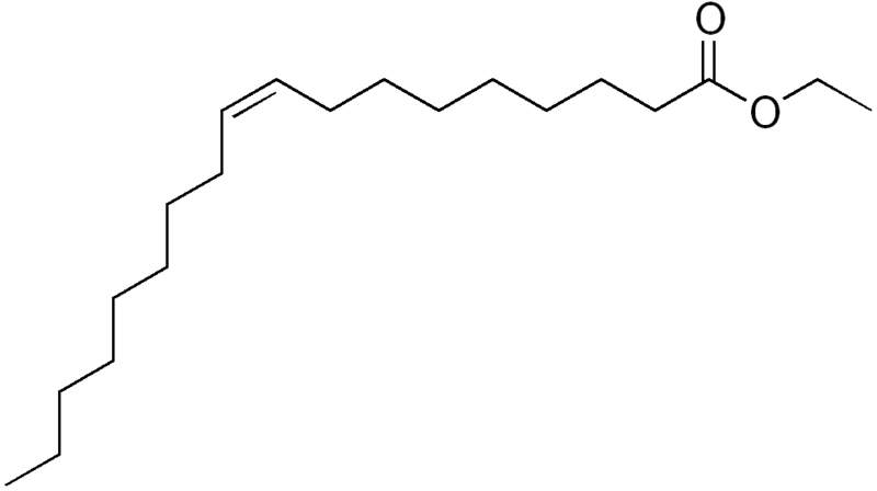 Ethyl oleate molecule