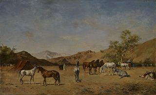 An Arabian Camp