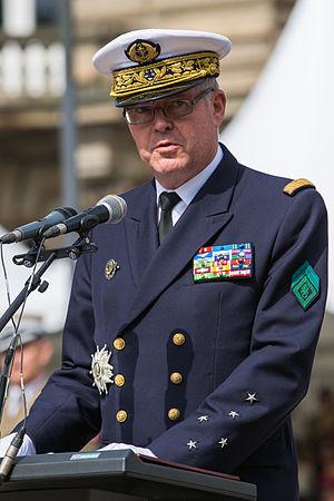 Édouard Guillaud - Image: Eurocorps Strasbourg passage de commandement 28 juin 2013 36