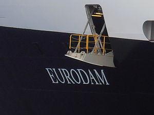 Eurodam Name Tallinn 1 August 2012.JPG
