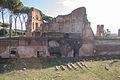 Exedra in the middle of the Palatine stadium.jpg
