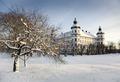 Exteriörbilder. Vinter - Skoklosters slott - 86494.tif
