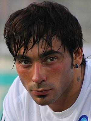Ezequiel Lavezzi - Lavezzi with Napoli in 2009.