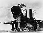 F-4B Phnatom II of VF-142 on USS Constellation (CVA-64) in August 1964.jpg