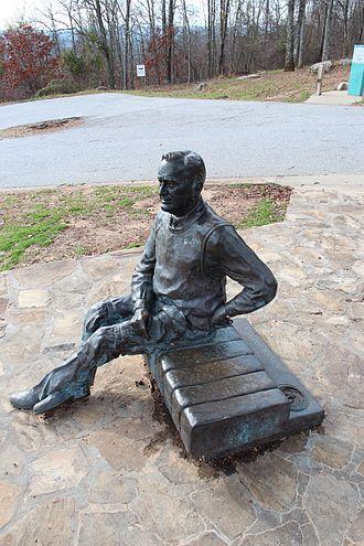 F. D. Roosevelt State Park - Image: FD Rstatue FD Rstatepark
