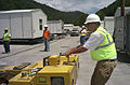 FEMA - 41507 - Contractors ready community housing site for occupancy in West Virginia.jpg