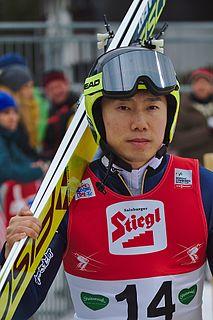 Taihei Kato Japanese Nordic combined skier