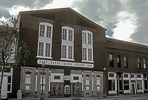 Fort Payne Opera House - Image: FT. PAYNE OPERA HOUSE