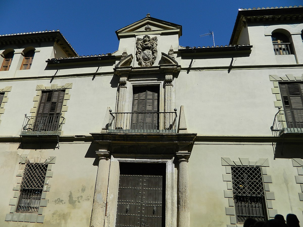 Fachada del Palacio de la Cuesta de Gomérez.JPG