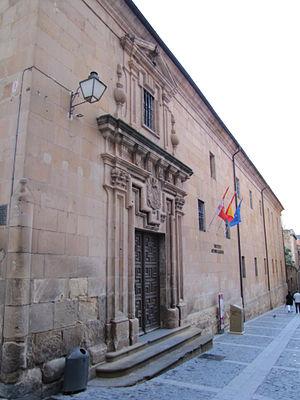 Español: Fachada del Colegio de la Compañía de...