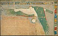 Facsimile of a falcon protecting the king MET 30.4.139 EGDP012971.jpg