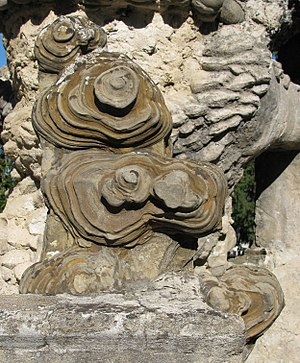 Ferdinand Cheval - The starting point: the unusually-shaped stone that Cheval tripped over