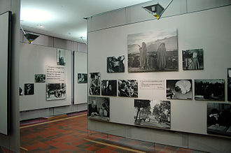 The Family of Man - The restored photography exhibition The Family of Man at Clervaux castle in Luxembourg.