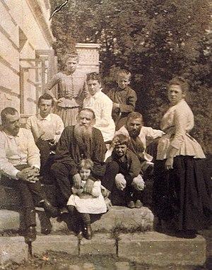 Sophia Tolstaya - Family of Leo Tolstoy, 1887