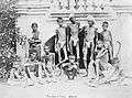 Famine in India; a group of emaciated young men wearing loin Wellcome L0002225.jpg