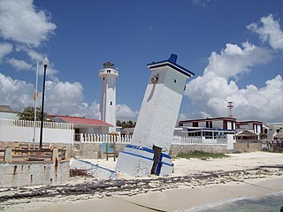 Puerto Morelos Lighthouse lighthouse in Mexico