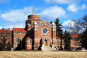 Felician Sisters - Chapel (1936) of the Felician Sisters in Livonia, Michigan.