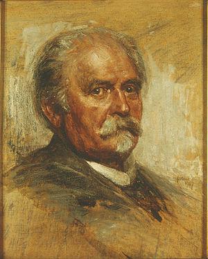 Felix Draeseke - Felix Draeseke, oil portrait by Robert Sterl (1907)