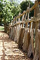 Fence in grounds of Charlecote Park, Warwick (3820799545).jpg