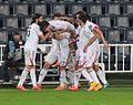 Fenerbahce - Altinordu 23 December 2014 goal celebration.jpg