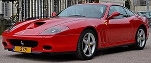 Ferrari 575M Maranello - Image: Ferrari 575M Maranello Flickr Alexandre Prévot (5) (cropped)
