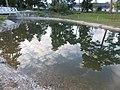 Festetics Palace English landscape park, water reflection, Keszthely, 2016 Hungary.jpg