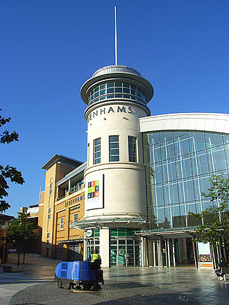 Basingstoke - Festival Place shopping centre