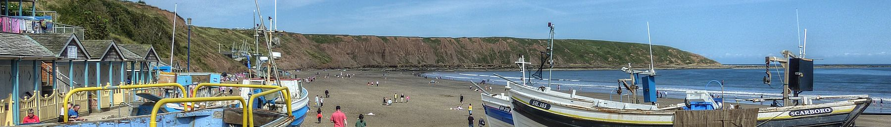 Filey slipway
