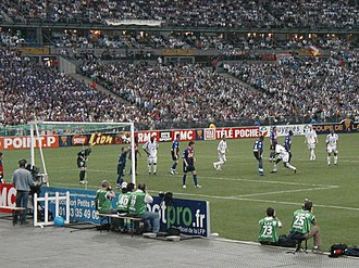 Stade Malherbe Caen - Coupe de la Ligue Final in 2005.