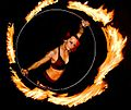 Fire Gypsy performing with a fire hula hoop.jpg