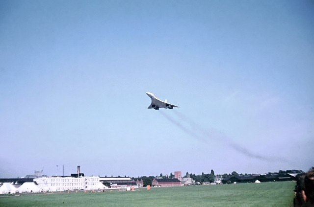 First Concorde at Farnborough - geograph.org.uk - 94175