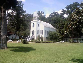 St. Marys Historic District (Georgia) - First Presbyterian Church c.1808