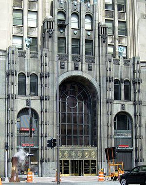 Fisher Building - Façade detail