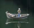 Fisherman in Dory Boat, Mt Hood National Forest (22828053053).png