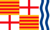 Flag of Igualada.png