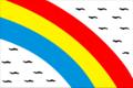 Flag of Zheltinskoe (Chelyabinsk oblast).png