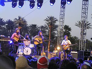 Fleet Foxes - Fleet Foxes performing at the 2009 Coachella Festival.
