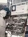 Fleming durante la sua visita in SPA 1949.jpg