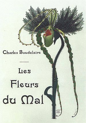 Les Fleurs du mal - Illustration of Les Fleurs du Mal by Carlos Schwabe, 1900