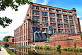 Flickr - ronsaunders47 - LEEDS-LIVERPOOL CANAL @ LEIGH .OLD DESERTED MILL..jpg